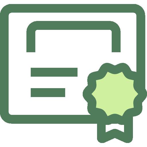 zertifikat prüfsiegel icon symbol