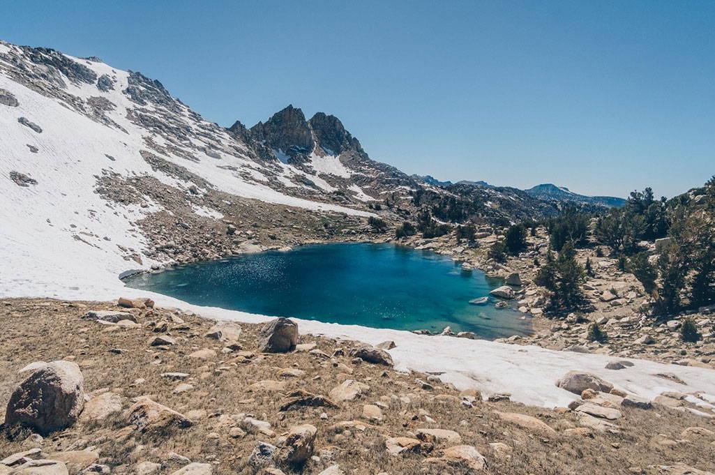 Pacific Crest Trail Sierras