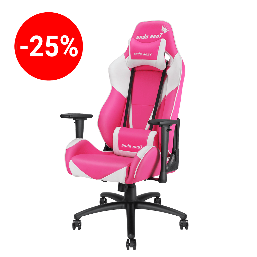 Pretty In Pink Gaming chair on sale