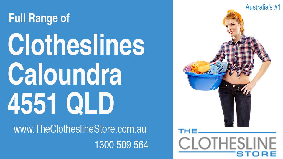 New Clotheslines in Caloundra Queensland 4551