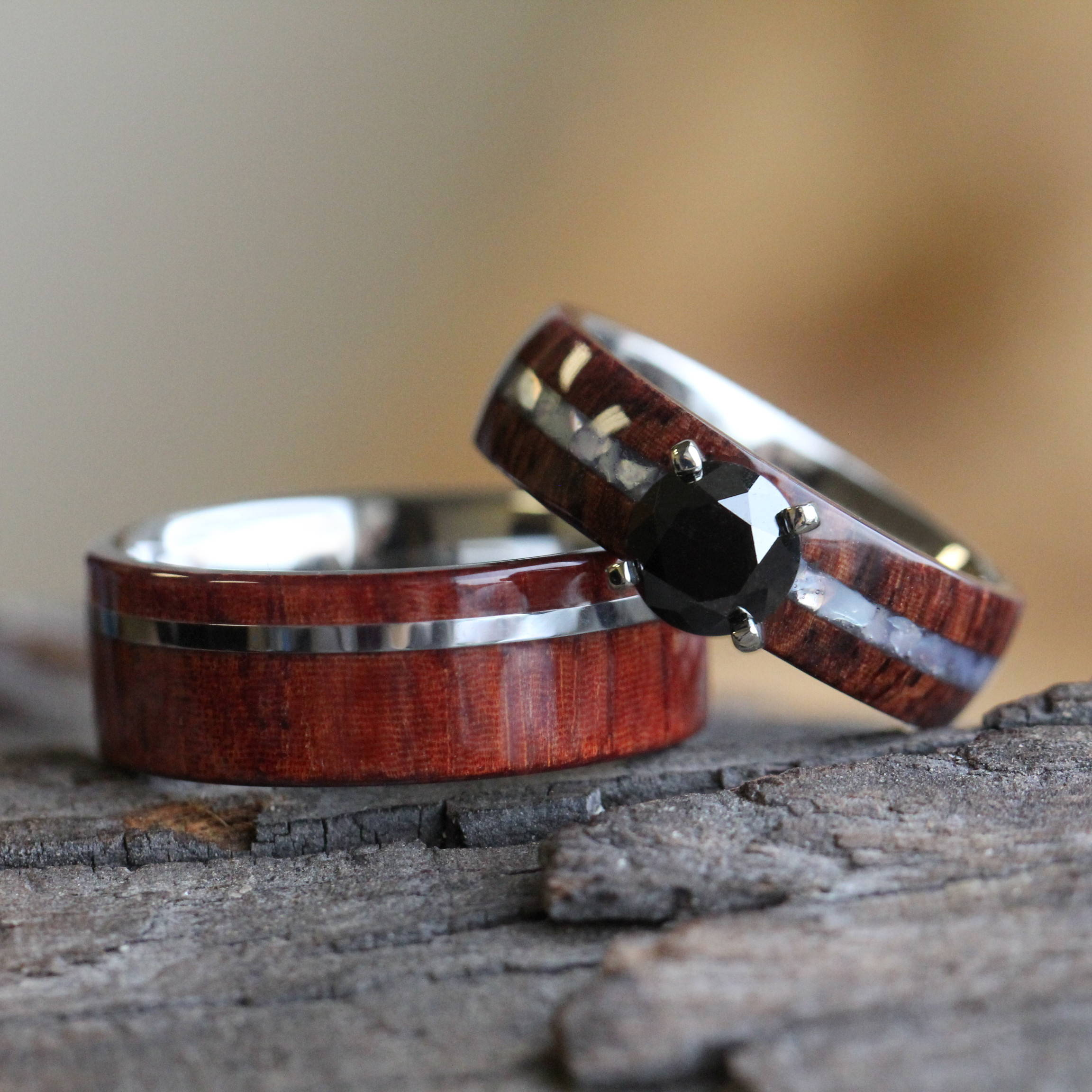 Rosewood Wedding Set