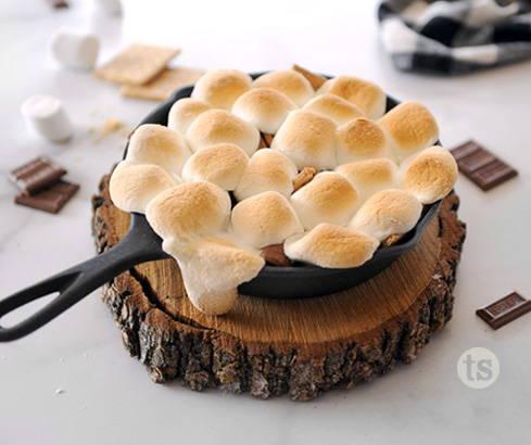 S'more Campfire Cake
