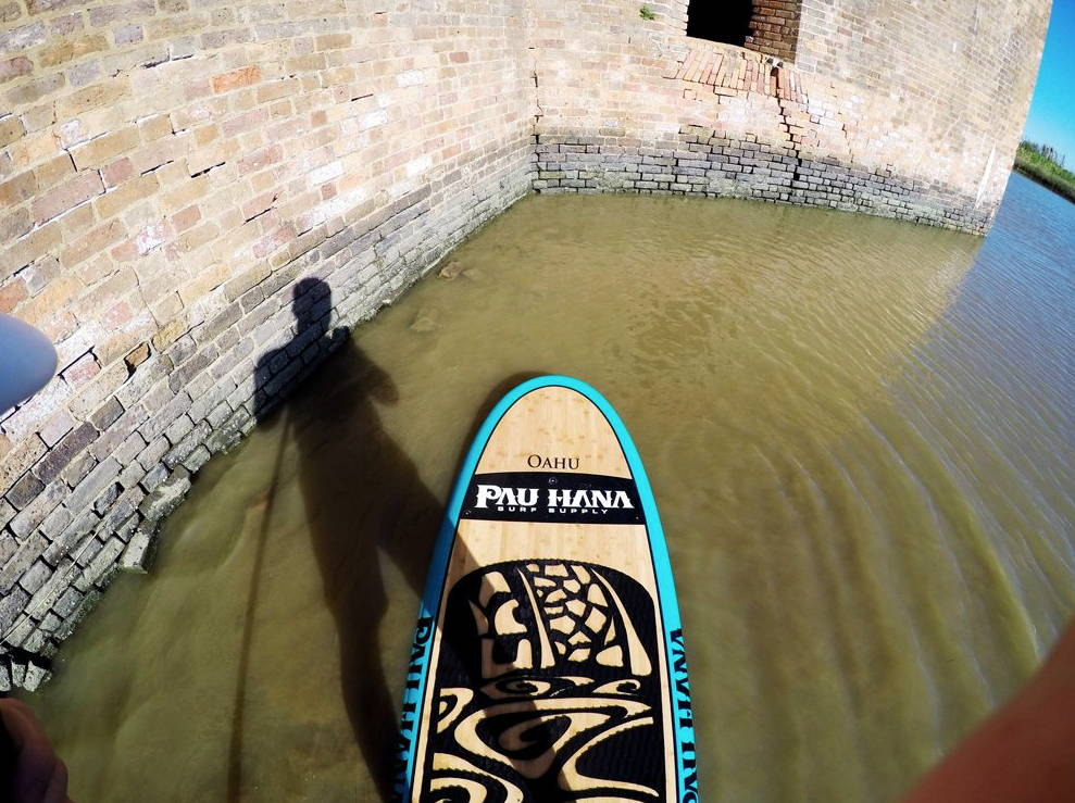 Oahu paddle board