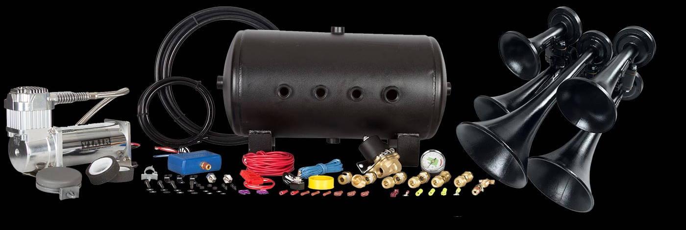 HornBlasters Nathan Airchime P5 540 Train Horn Kit