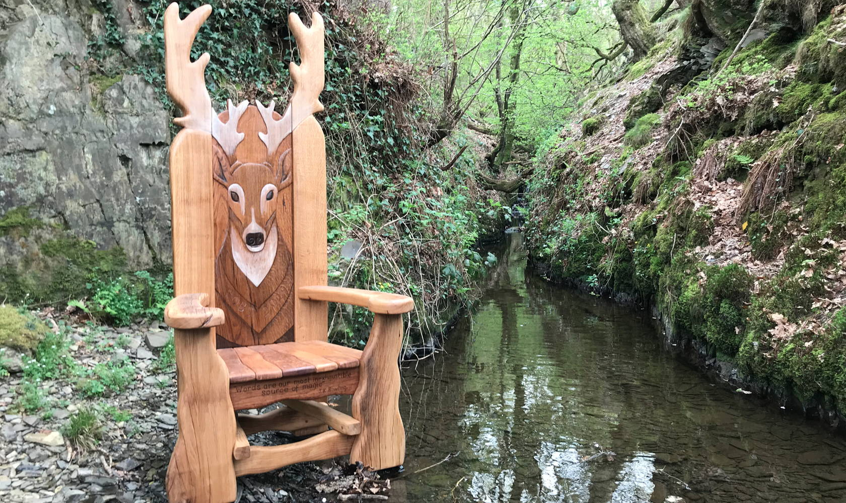 stag storytelling chair