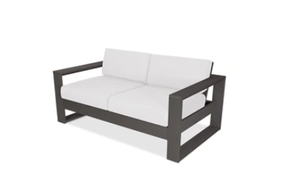 Polywood Hudson Modular Right Arm Settee