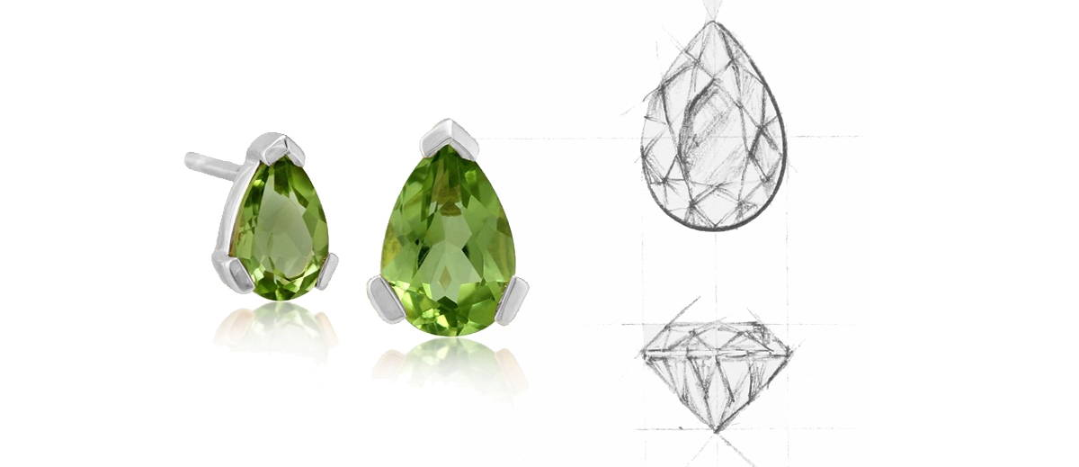 Pear Cut Gemstone Sample Image