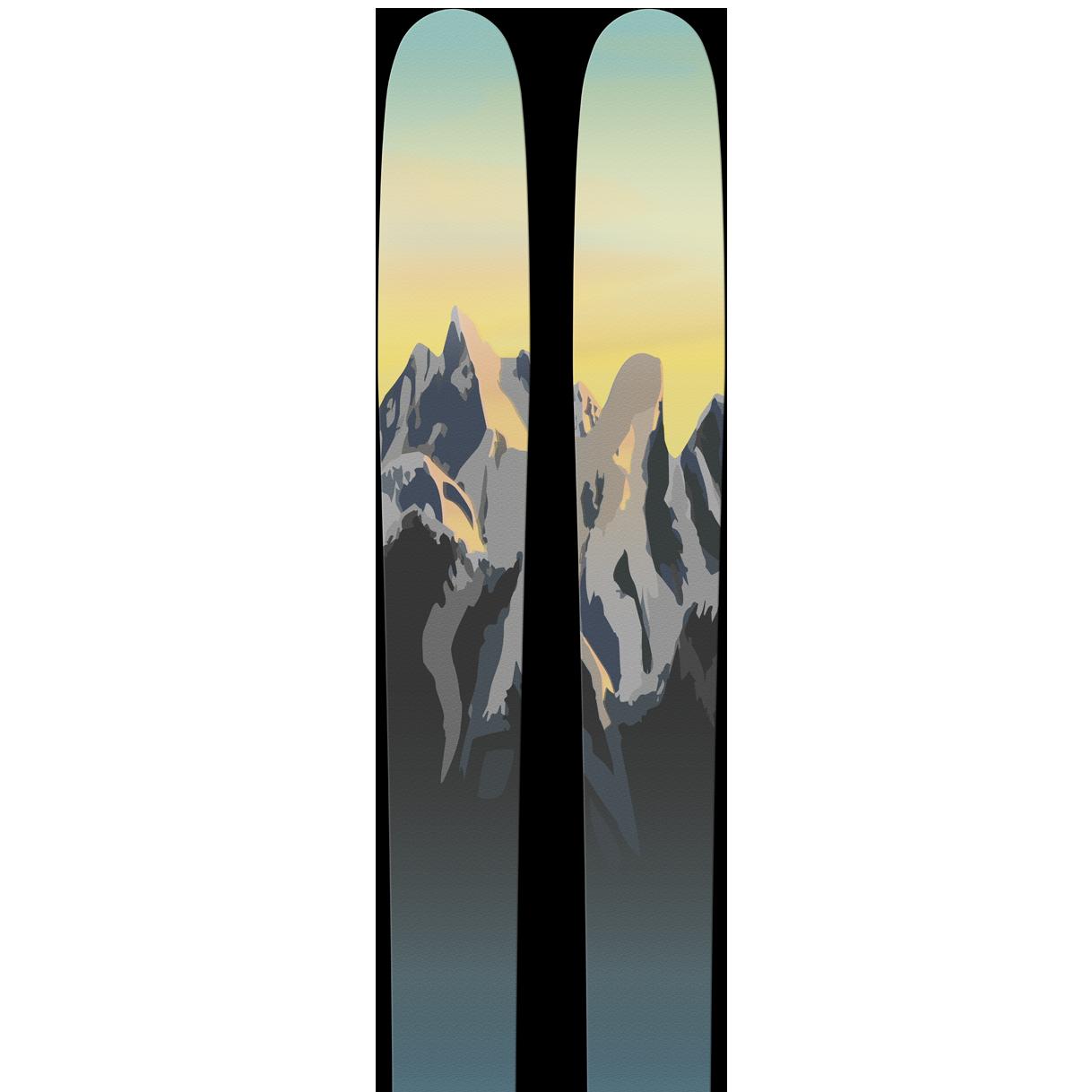 SGN skis Hurrungane Toppturski