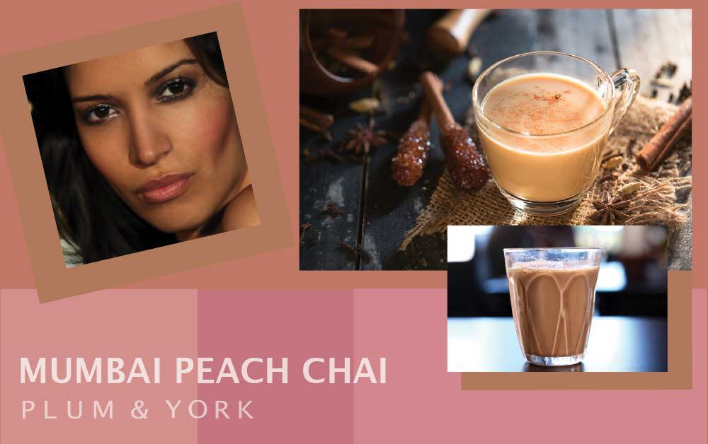 Mumbai Peach Chai lipstick by Plum & York, nude lipstick for olive skin