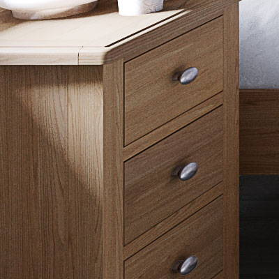 The Faro Oak Bedroom Collection