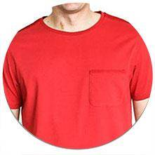 Otero Honest T-shirt Rust Red