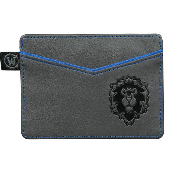 WORLD OF WARCRAFT ALLIANCE TRAVEL CARD WALLET