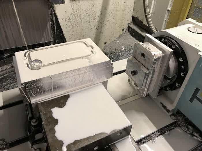 cnc machine pro tooling in progress
