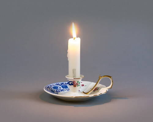 Seletti Hybrid Candle Holder Laudomia