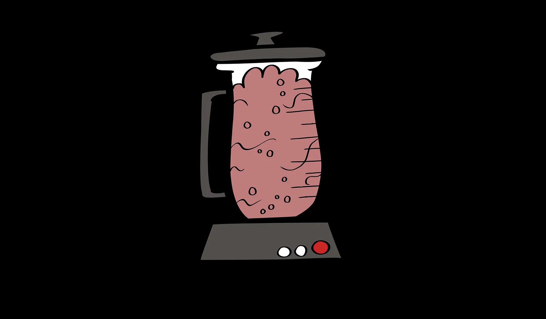 illustrated blender