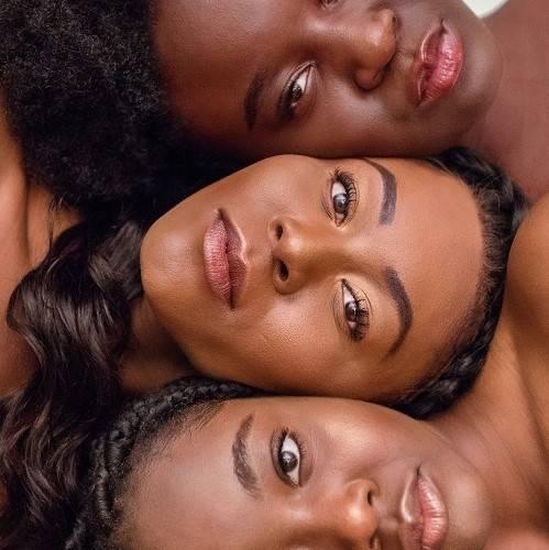 Black Women of Different Tones