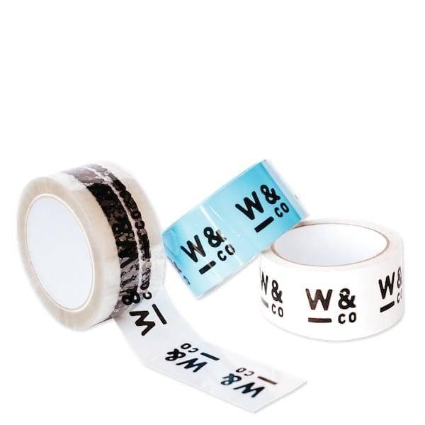 custom printed poly tape
