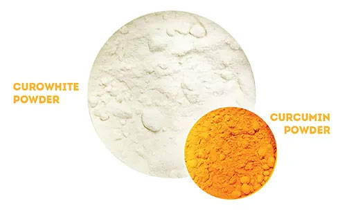 Comparing Curowhite and regular Curcumin Extracts