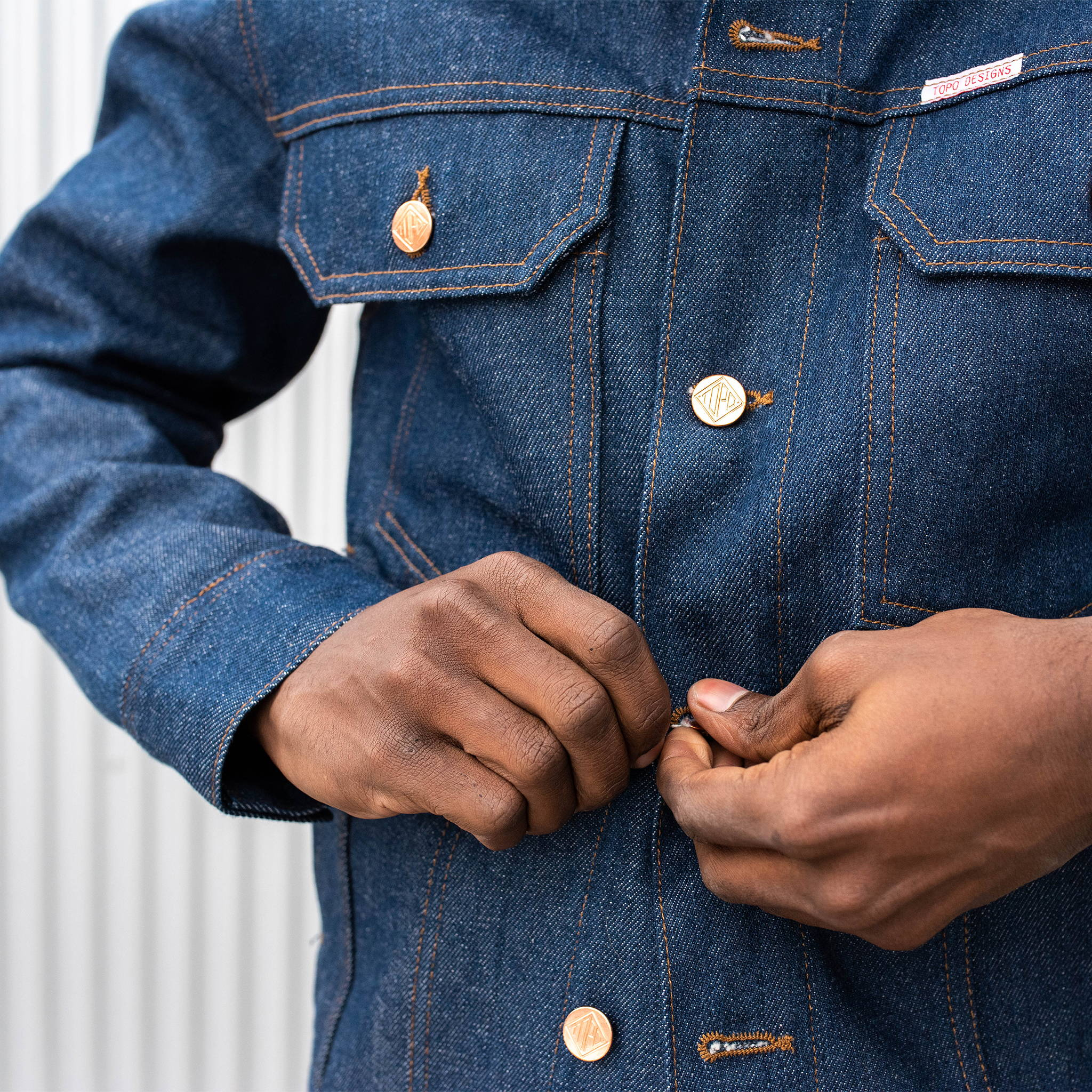 Topo Designs Denim Trucker Jacket