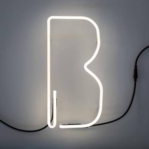 Seletti Alphafont Neon Lamp