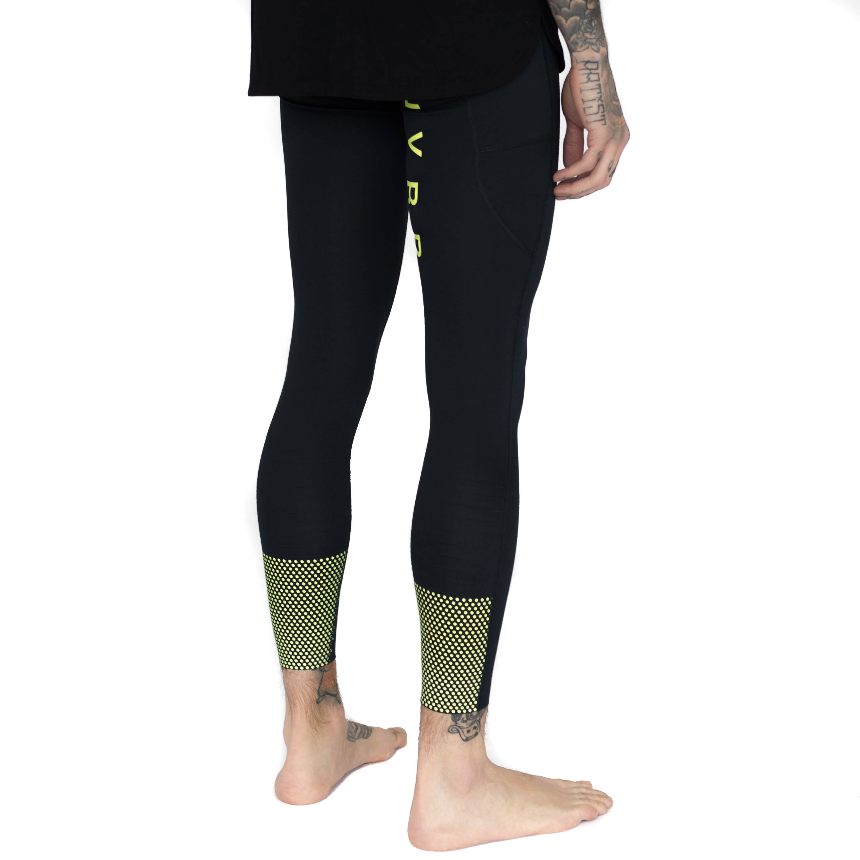 Mens-Glow in Dark-Compression Tight-4