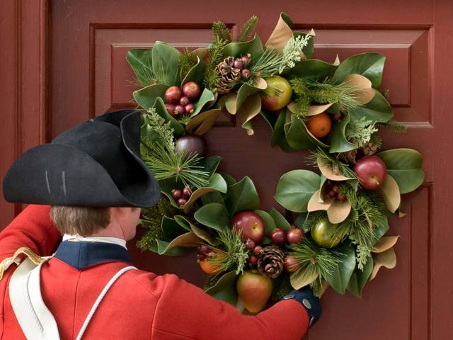Wreaths at Colonial Williamsburg