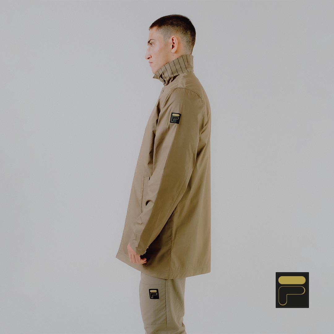 NEW FILA Gold Collection Premium Autumn Winter Luxury Men's clothing black and khaki