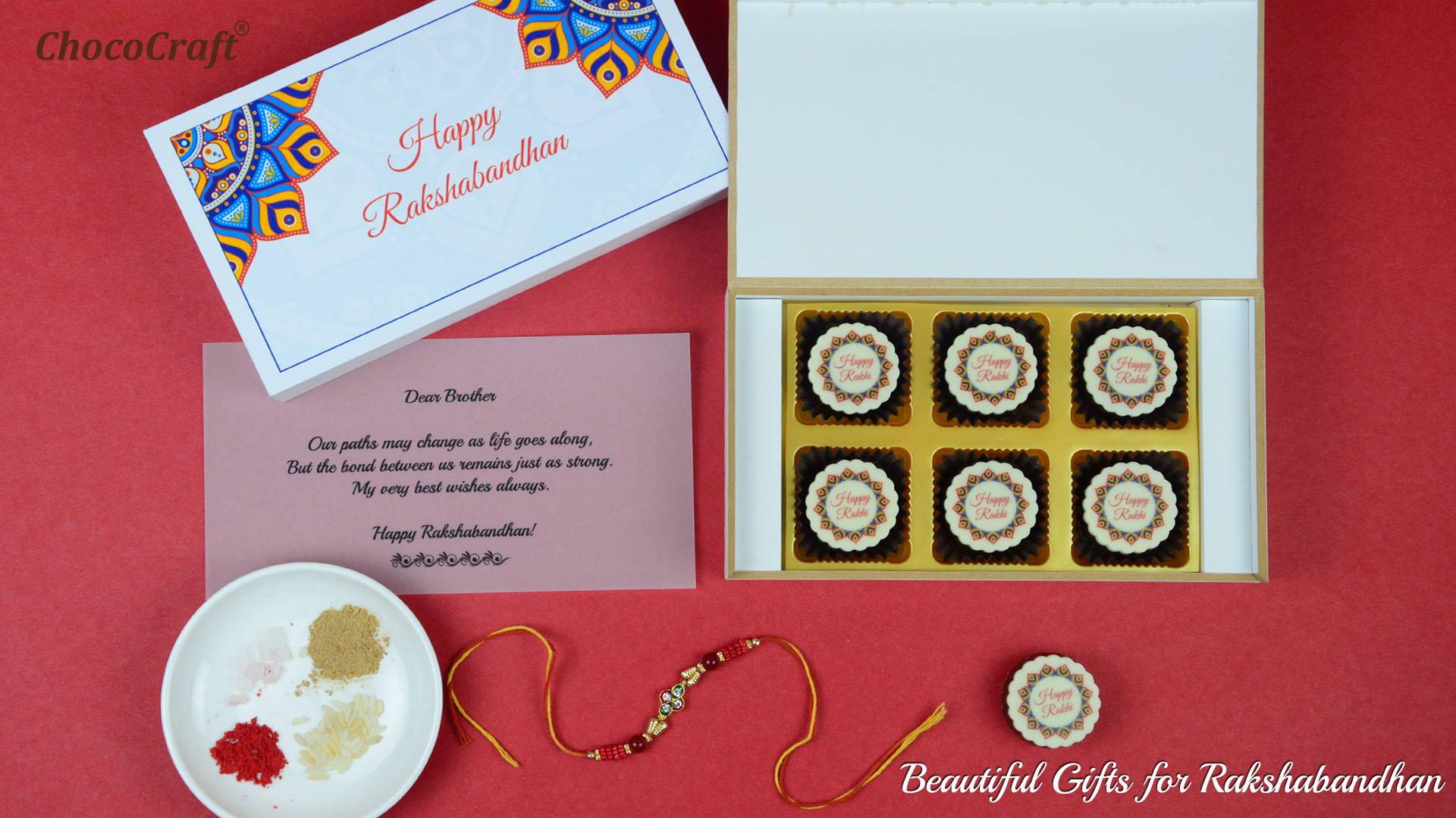 Beautiful gifts for Rakshabandhan