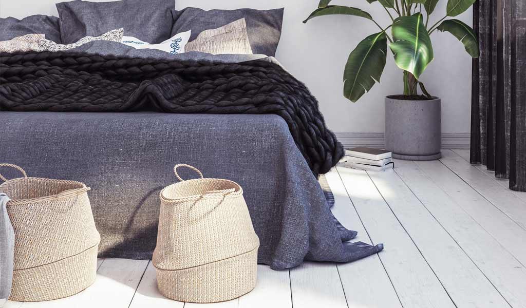 Städtips för ett rent och hälsosamt sovrum