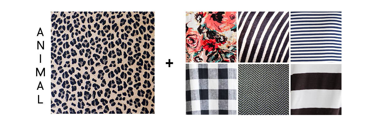 pattern mixing for beginners animal