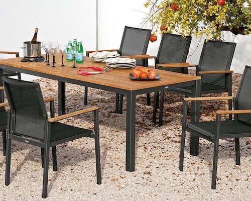 Barlow Tyrie Aura Extending Dining Table