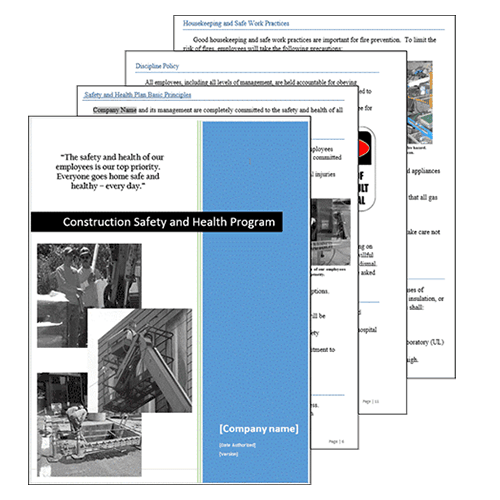 Construction Safety Plan Template from i.shgcdn.com