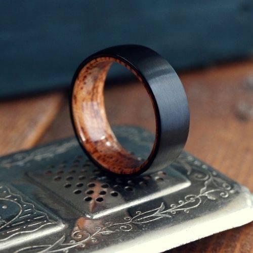 Men's Wooden Wedding Ring