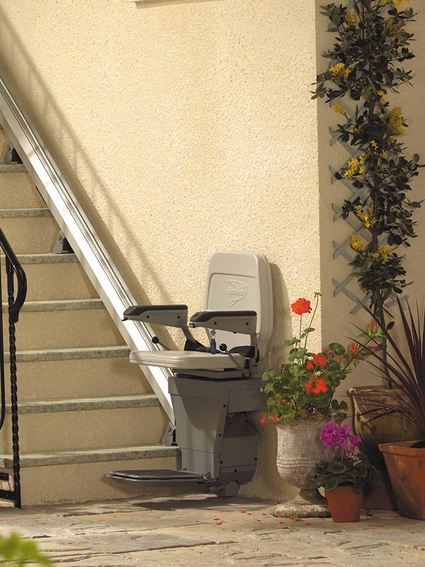 Stair Lift Outdoor Stannah 320 chair by VIVA Mobility