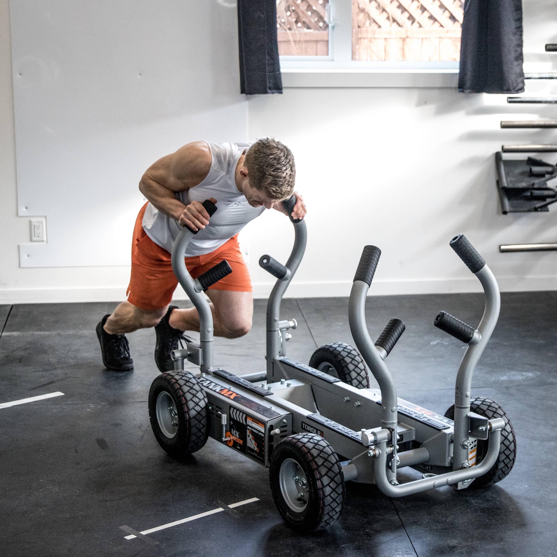 Brent Fikowski pushing TANK MX