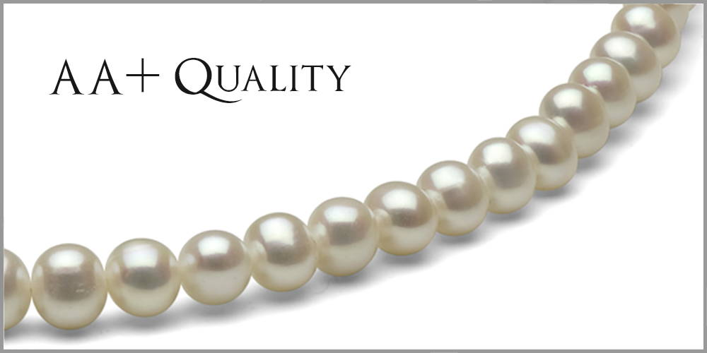 Grading Slice AA+ Quality Freshwater Pearls
