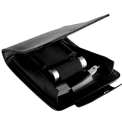 Naked Armor Merlin Travel Kit with Brush, Strop and Razor