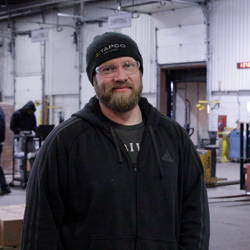 Nick Schultz is a Team Leader in our Distribution Center