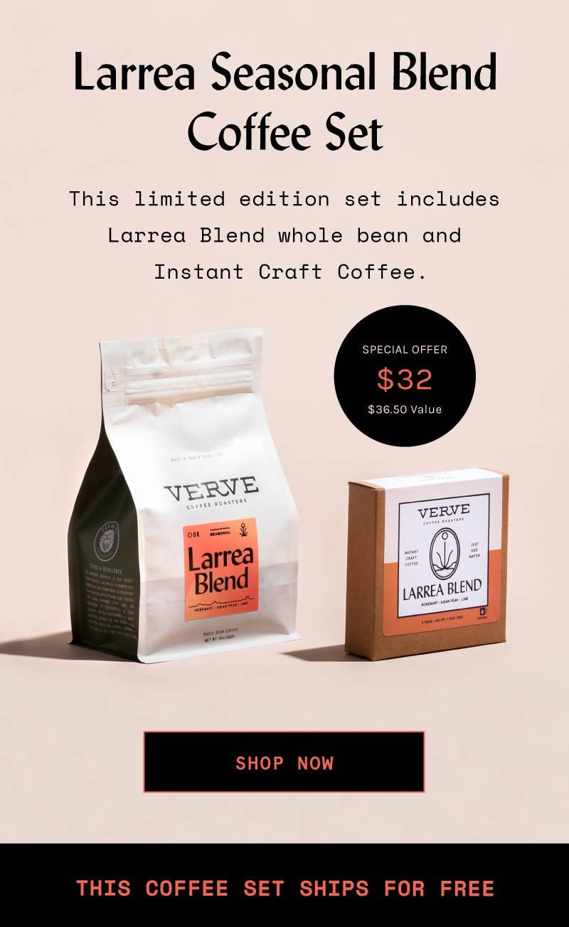 Larrea Seasonal Blend Coffee Set