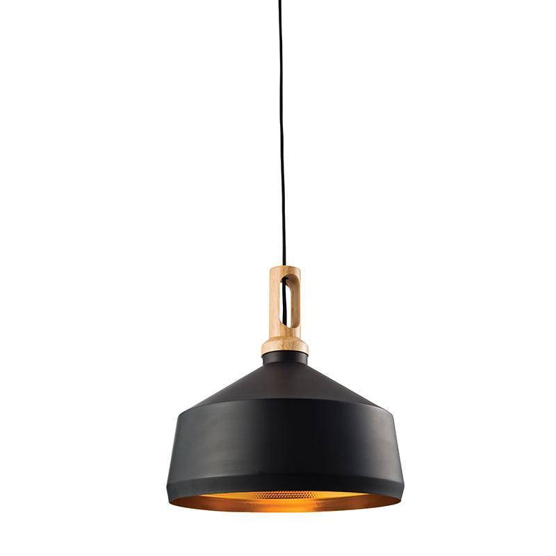 black ceiling pendant lights