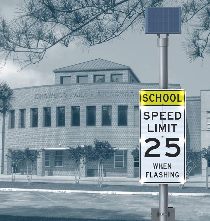 School Zone BlinkerSign