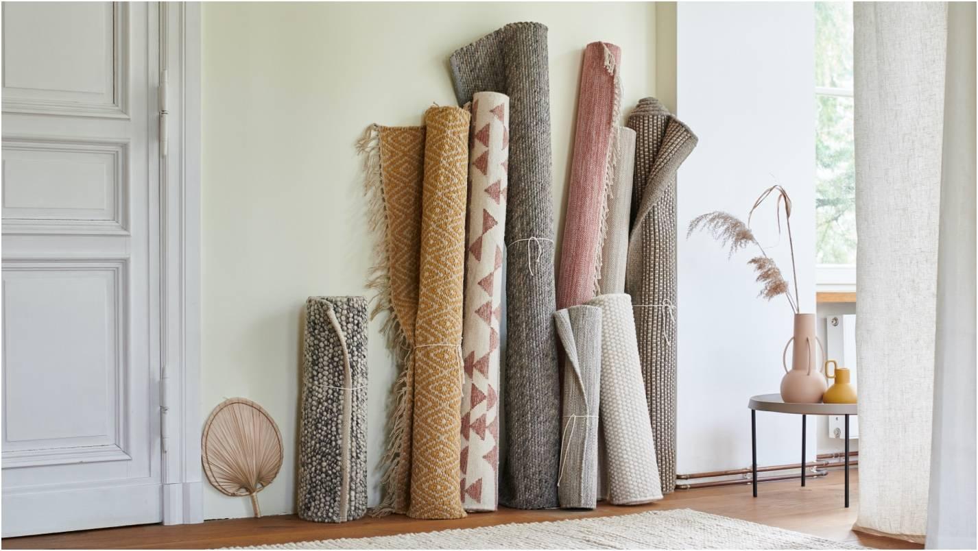 Teppiche in verschiedenen Größen