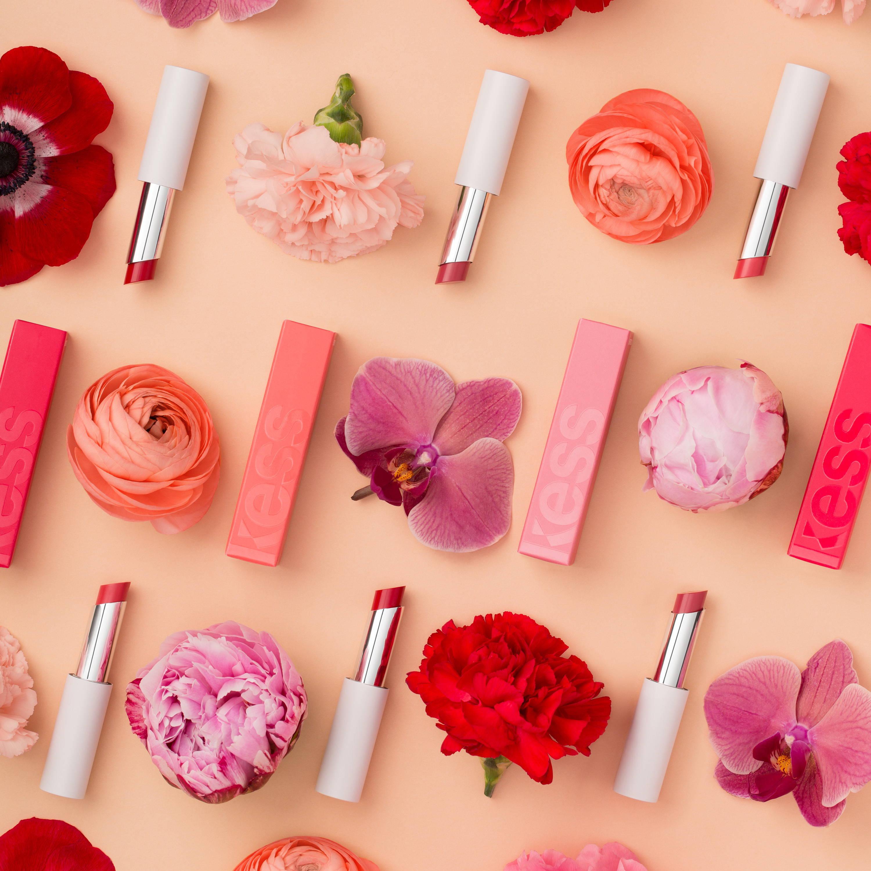 Flowers and lipsticks