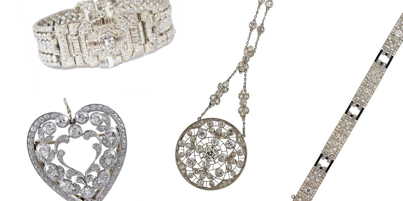 Vintage diamond pieces