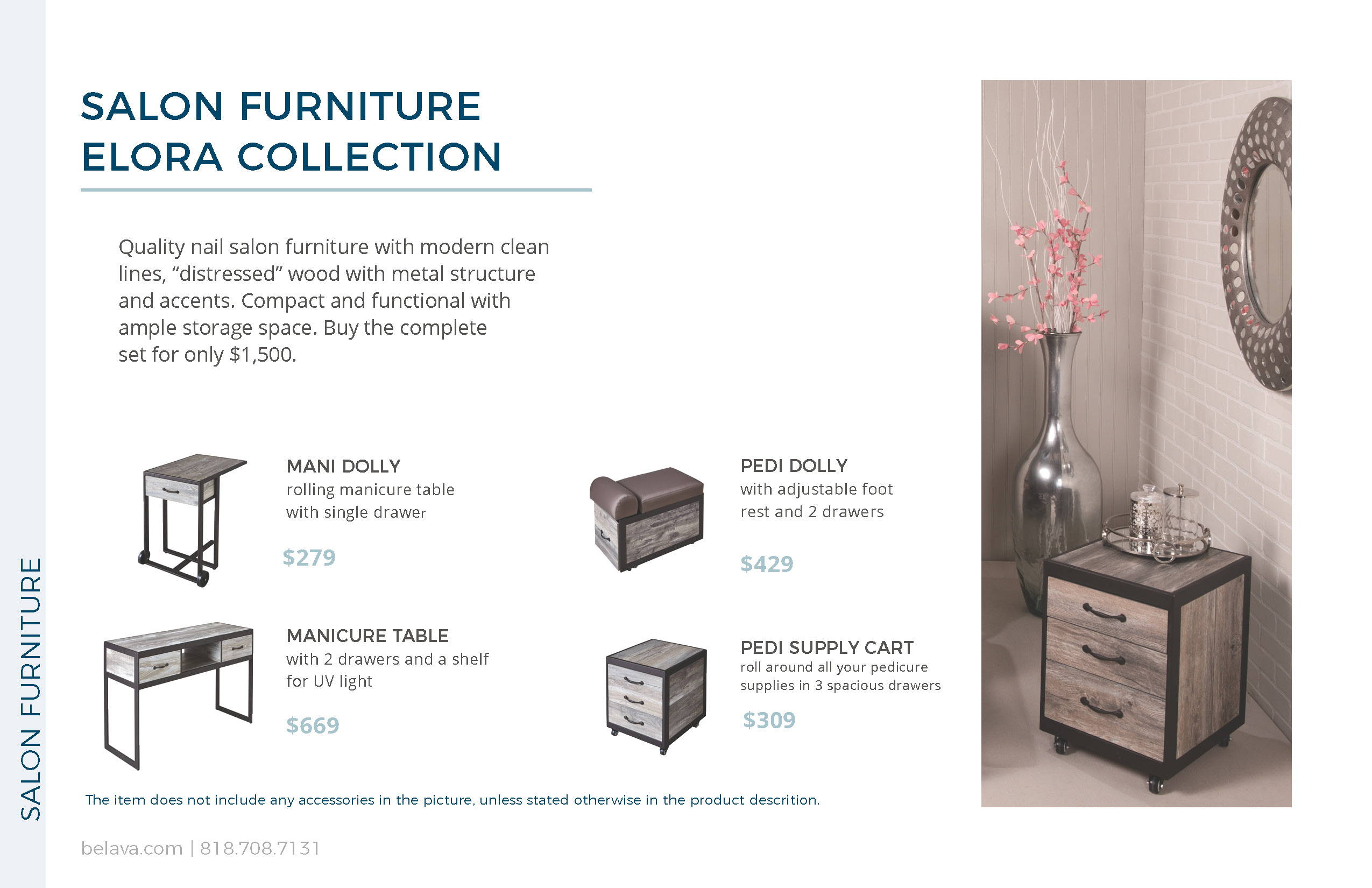Elora Collection Salon Furniture by Belava