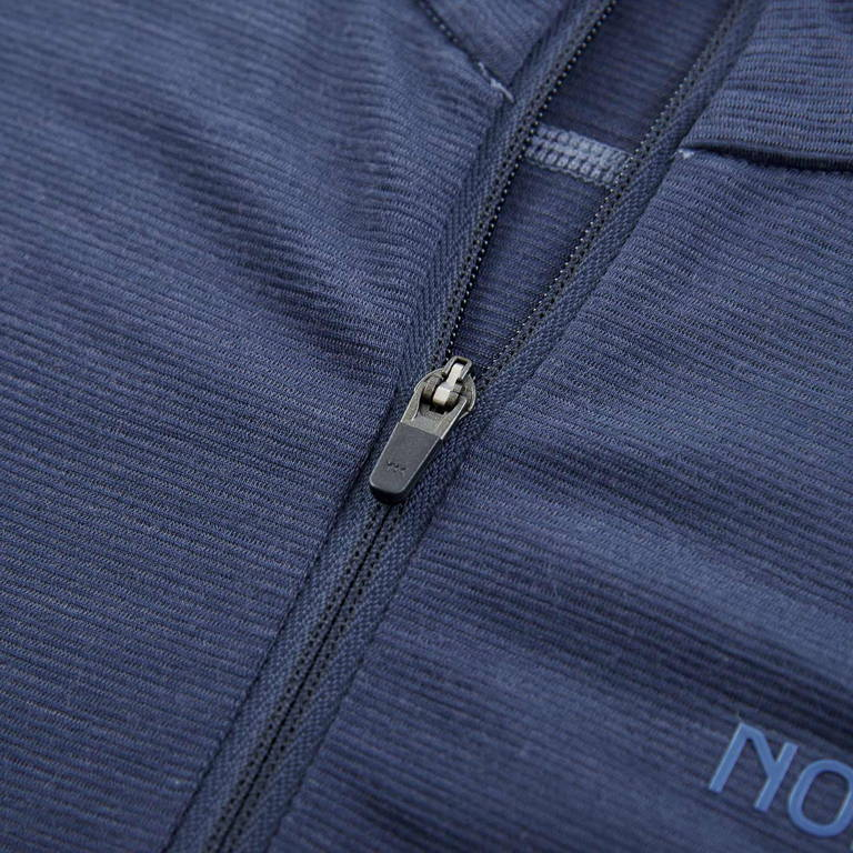 NORRONA(ノローナ)/イコライザー メリノジップネック/ネイビー/MENS