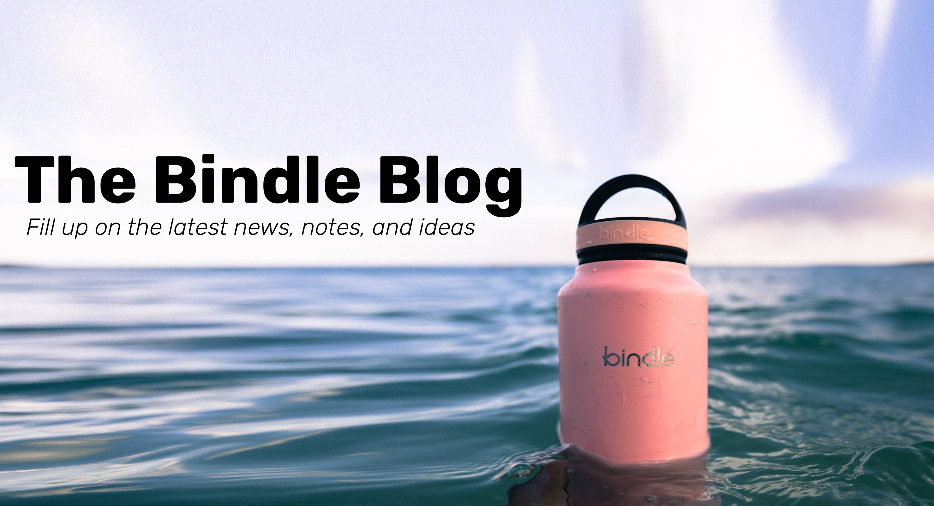 Bindle Bottle blog.