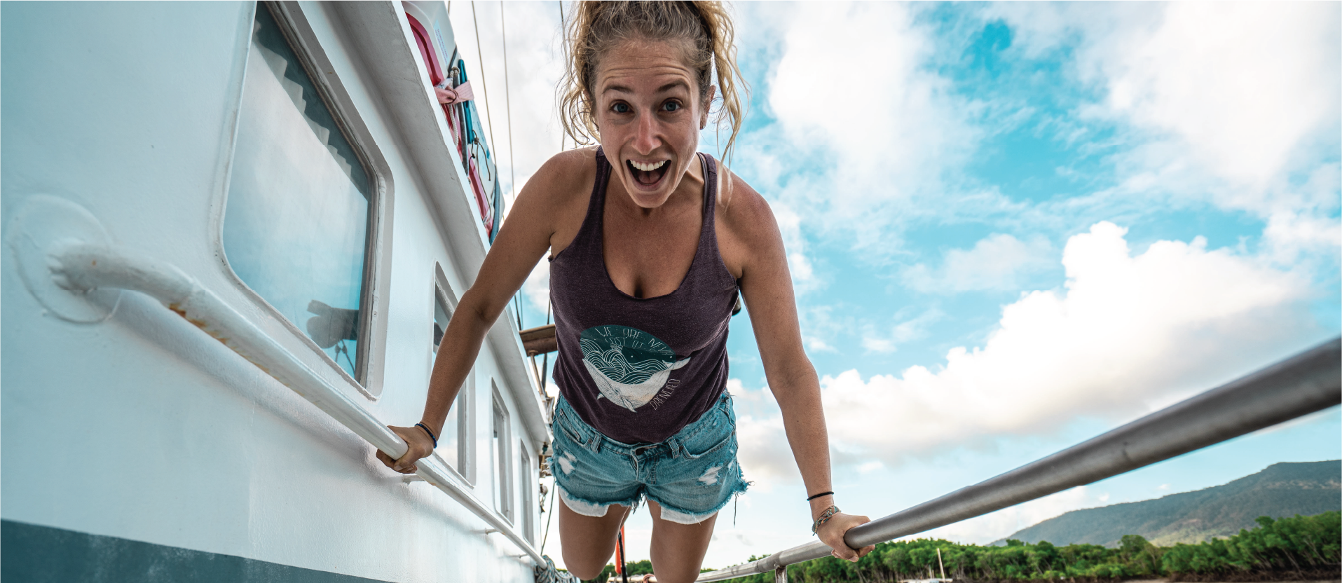 Unisex Tank Top - We Are Never Lost At Sea | Expedition Drenched