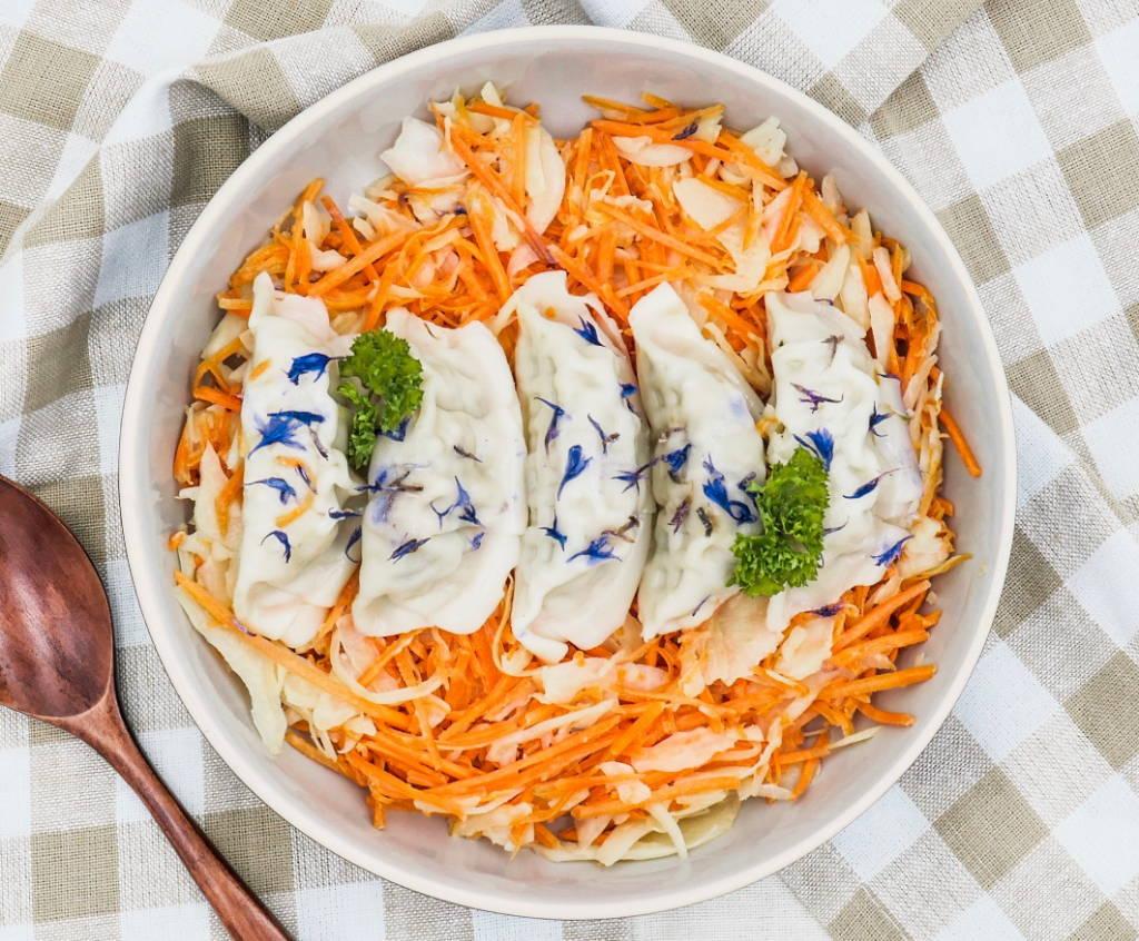 plats diététiques régime carottes chou ravioles