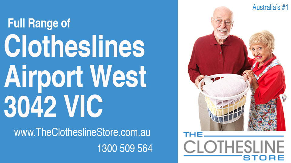 New Clotheslines in Airport West Victoria 3042